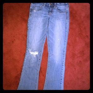 American Eagle skinny kick Jean's size 6